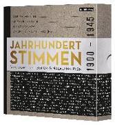 Cover-Bild zu Jahrhundertstimmen 1900-1945 - Deutsche Geschichte in über 200 Originalaufnahmen von Vogt, Annette (Beitr.)