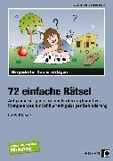 Cover-Bild zu 72 einfache Rätsel von Krauth, Susanne