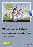 Cover-Bild zu 72 einfache Rätsel (eBook) von Krauth, Susanne