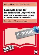 Cover-Bild zu Lesemalblätter für leseschwache Jugendliche (eBook) von Miller, Christa