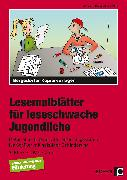Cover-Bild zu Lesemalblätter für leseschwache Jugendliche von Miller, Christa