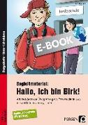 Cover-Bild zu Begleitmaterial: Hallo, ich bin Birk! (eBook) von Miller, Christa