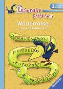 Cover-Bild zu Wörterrätsel zum Lesenlernen (2. Lesestufe) von VEB SPIELEKOMBINAT Katja Volk