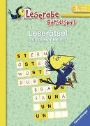 Cover-Bild zu Leserätsel zum Lesenlernen (3. Lesestufe) von VEB SPIELEKOMBINAT Katja Volk