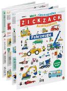 Cover-Bild zu Mein riesengroßes ZICKZACK Ausklappbuch - Fahrzeuge von Makii