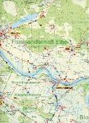 Cover-Bild zu Radwander- und Wanderkarte Flusslandschaft Elbe, Wittenberge, Arendsee, Lenzen und Umgebung 1 : 50 000. 1:50'000