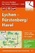 Cover-Bild zu Klemmer Pocket Rad-, Wander- und Paddelkarte Lychen - Fürstenberg/Havel 1 : 50 000. 1:50'000 von Klemmer, Klaus (Hrsg.)