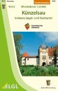 Cover-Bild zu Künzelsau - Unteres Jagst- und Kochertal 1 : 25 000. 1:25'000