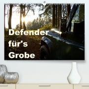 Cover-Bild zu Ascher, Johann: Defender für's Grobe (Premium, hochwertiger DIN A2 Wandkalender 2022, Kunstdruck in Hochglanz)