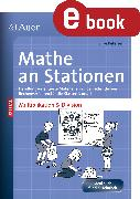 Cover-Bild zu Mathe an Stationen Multipliaktion & Division 3-4 (eBook) von Petersen, Silke