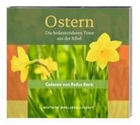 Cover-Bild zu Ostern. Gelesen von Rufus Beck von Beck, Rufus (Gelesen)
