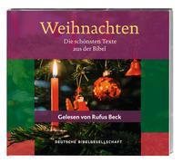 Cover-Bild zu Weihnachten. Die schönsten Texte aus der Bibel. Gelesen von Rufus Beck von Beck, Rufus (Gelesen)