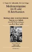 Cover-Bild zu Vogel, Christine (Hrsg.): Medienereignisse im 18. und 19. Jahrhundert (eBook)