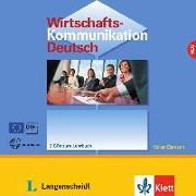 Cover-Bild zu Wirtschaftskommunikation Deutsch - 2 Audio-CDs