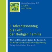 Cover-Bild zu Ortkemper, Franz-Josef (Hrsg.): Gottes Volk LJ A1/2014 CD-ROM