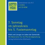 Cover-Bild zu Ortkemper, Franz-Josef (Hrsg.): Gottes Volk LJ A3/2014 CD-ROM