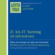 Cover-Bild zu Krautter, Bernhard (Hrsg.): Gottes Volk LJ A7/2011 CD-ROM
