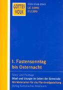 Cover-Bild zu Krautter, Bernhard (Hrsg.): 1. Fastensonntag bis Osternacht