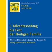 Cover-Bild zu Ortkemper, Franz-Josef (Hrsg.): Gottes Volk LJ B1/2015 CD-ROM