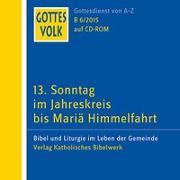 Cover-Bild zu Ortkemper, Franz-Josef (Hrsg.): Gottes Volk LJ B6/2015 CD-ROM