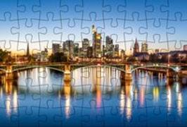 Cover-Bild zu Gmeiner-Verlag (Hrsg.): Puzzle-Postkarte Frankfurt am Main