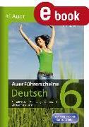 Cover-Bild zu Auer Führerscheine Deutsch Klasse 6 (eBook) von Tagliente, Vito