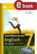Cover-Bild zu Auer Führerscheine Englisch Klasse 7 (eBook) von Büttner, Patrick