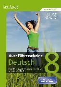 Cover-Bild zu Auer Führerscheine Deutsch Klasse 8 von Euler, Verena