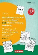 Cover-Bild zu 2 in 1: Mit Bildergeschichten Texte verfassen und Rechtschreibung trainieren, Band 3: Klasse 3/4, Wörter mit -ck, -tz, ß, i/ie/ih/ieh, Dehnungs-h, aa/ee/oo, V, fer- und for-, x/gs/ks/chs und Fremdwörter, Kopiervorlagen von Wehren, Bernd