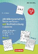 Cover-Bild zu 2 in 1: Mit Bildergeschichten Texte verfassen und Rechtschreibung trainieren, Band 2: Klasse 2/3, Wörter mit doppelten Konsonanten und Auslautverhärtung -b/-d/-g, Kopiervorlagen von Wehren, Bernd