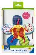 Cover-Bild zu Ravensburger ministeps 4154 Knister-Blümchen, Schmusetuch und Greifling mit Knister-Geräusch, Baby Spielzeug ab 0 Monate