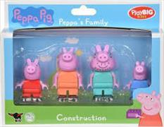 Cover-Bild zu PlayBIG Bloxx Peppa Pig Peppa´s Family