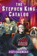 Cover-Bild zu Hinchberger, Dave: 2021 Stephen King Catalog Desktop Calendar: Stephen King Goes to the Movies