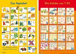 Cover-Bild zu Mein Lernposter: 2er-Set Das Alphabet / Zahlen 1 - 20
