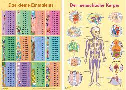 Cover-Bild zu Mein Lernposter: 2er-Set Einmaleins / Der menschliche Körper