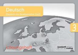 Cover-Bild zu Deutsch 3 (DaZ) (Lösungsheft) von Wachendorf, Anja