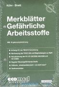 Cover-Bild zu 268. Ergänzungslieferung - Merkblätter gefährliche Arbeitsstoffe
