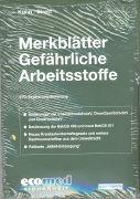 Cover-Bild zu 270. Ergänzungslieferung - Merkblätter gefährliche Arbeitsstoffe