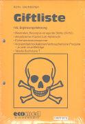 Cover-Bild zu 132. Ergänzungslieferung - Giftliste