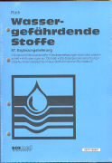 Cover-Bild zu 87. Ergänzungslieferung - Wassergefährdende Stoffe