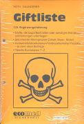 Cover-Bild zu 133. Ergänzungslieferung - Giftliste