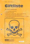 Cover-Bild zu 134. Ergänzungslieferung - Giftliste