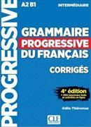 Cover-Bild zu Grammaire progressive du français, intermédiaire, A2-B1 : corrigés von Thievenaz, Odile