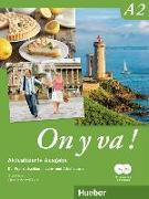 Cover-Bild zu On y va ! A2. Aktualisierte Ausgabe. Lehr- und Arbeitsbuch mit komplettem Audiomaterial von Laudut, Nicole