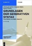 Cover-Bild zu Grundlagen der generativen Syntax (eBook) von Gabriel, Christoph