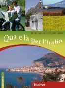 Cover-Bild zu Qua e là per l'Italia von Cusimano, Linda