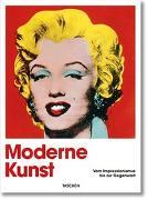Cover-Bild zu Moderne Kunst. Vom Impressionismus bis zur Gegenwart von Holzwarth, Hans Werner (Hrsg.)