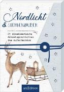 Cover-Bild zu Nordlicht und Sternenzauber. 24 skandinavische Adventsgeschichten zum Aufschneiden