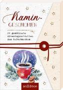 Cover-Bild zu Adventskalender Kamingeschichten. 24 gemütliche Adventsgeschichten zum Aufschneiden