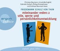 Cover-Bild zu Miteinander reden Teil 2: Stile, Werte und Persönlichkeitsentwicklung von Schulz von Thun, Friedemann